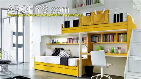 Ideas para decorar mejor un cuarto bien pequeño ...
