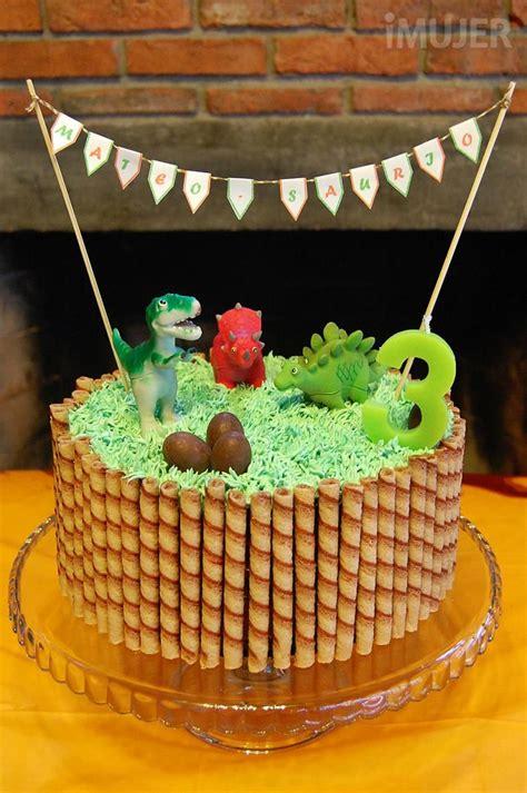 Ideas para decorar tortas infantiles   dino   Dinosaur ...