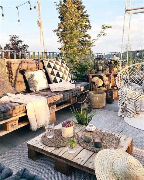 Ideas para decorar tu jardín, patio o terraza con palets ...