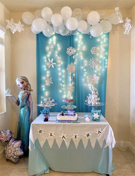 Ideas para decorar una Maravillosa Fiesta Frozen
