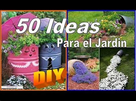 IDEAS para EL JARDIN/PATIO que tu mismo PUEDES HACER   YouTube