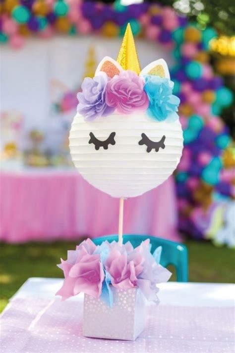 Ideas para fiesta de cumpleaños de Unicornios   Azularia.cl