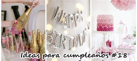 Ideas para fiestas de cumpleaños de 18 años