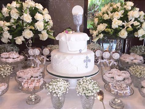 Ideas para la mesa de dulces de la primera comunión