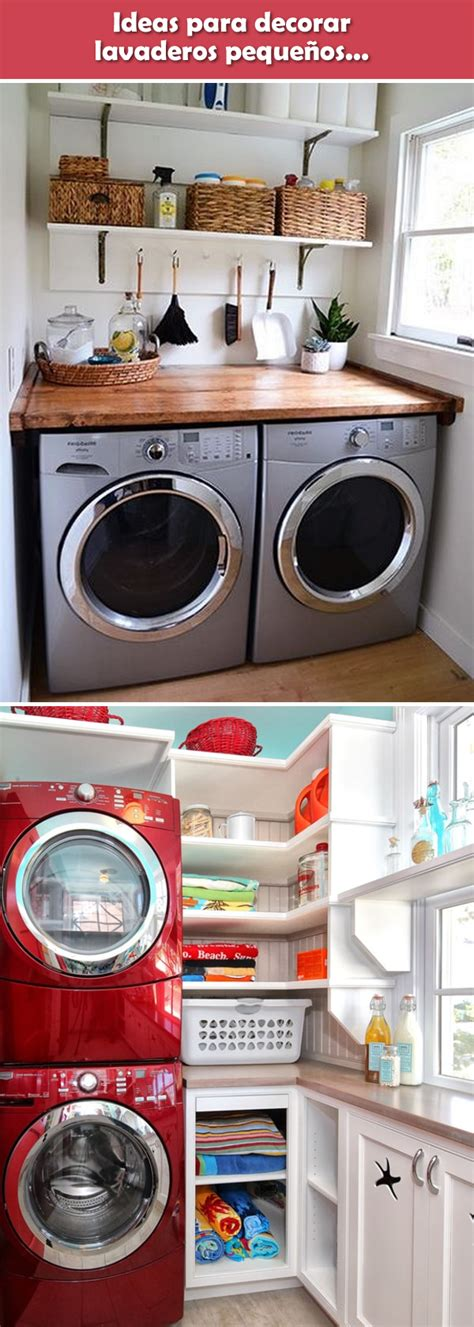 Ideas para lavaderos pequeños   Decoración para ...