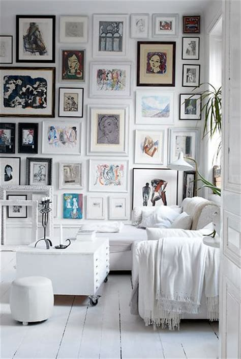 Ideas para organizar cuadros en la pared   Blog de Hogarmania