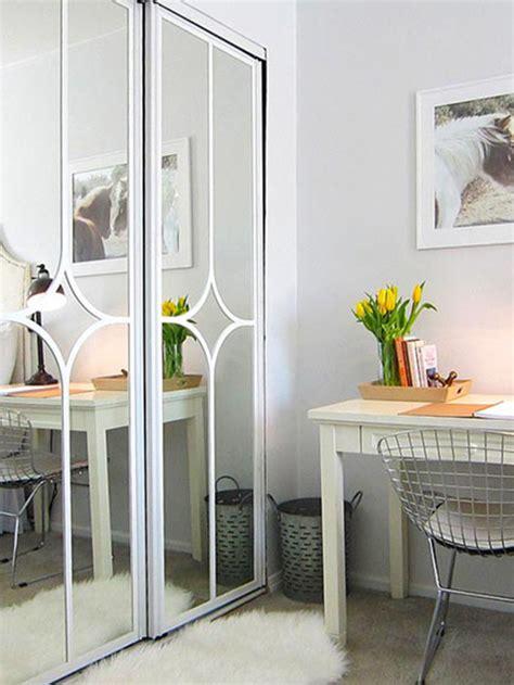 Ideas para pintar y decorar las puertas de los armarios.