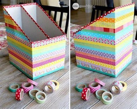 Ideas para reciclar y decorar con cartón de cajas y envíos