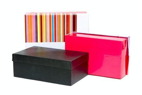 Ideas para transformar cajas de zapatos en cajas ...