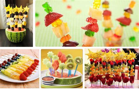 Ideas y cosas para tus fiestas infantiles: Frutas para los ...