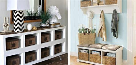 Ideas y trucos para decorar recibidores pequeños
