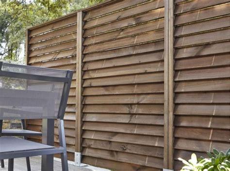 Idée jardin : une clôture pour s'isoler | déco | Panneau ...