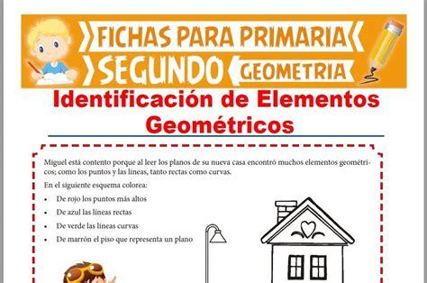 Identificación de Elementos Geométricos para Segundo Grado ...