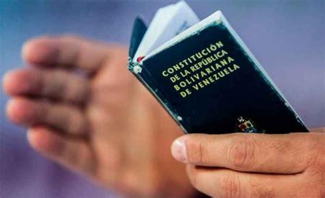 iF Revista Digital Venezuela: La Constitución Nacional De ...