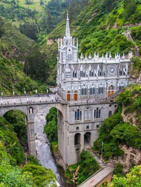 IGLESIA de Las Lajas, Nariño Colombia. | Gothic cathedrals ...