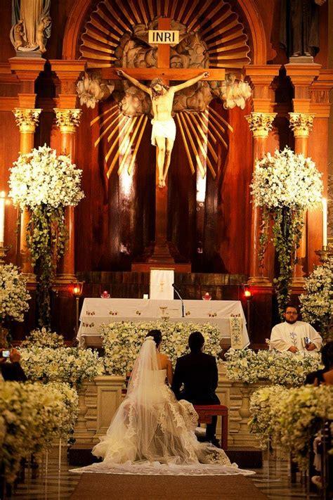 iglesia flores | Iglesias boda, Boda católica, Decoracion ...