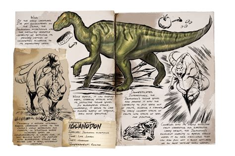 Iguanodon   Official ARK: Survival Evolved Wiki