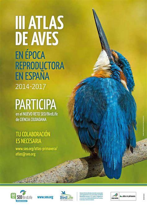 III Atlas de aves reproductoras de España   Eventos   Blog