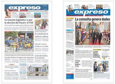III+III: diario EXPRESO
