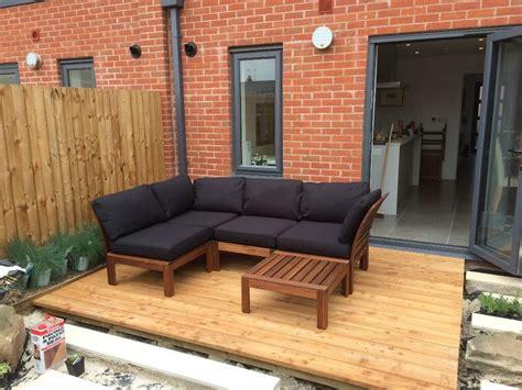 Ikea Applaro garden furniture set with crank and tilt ...