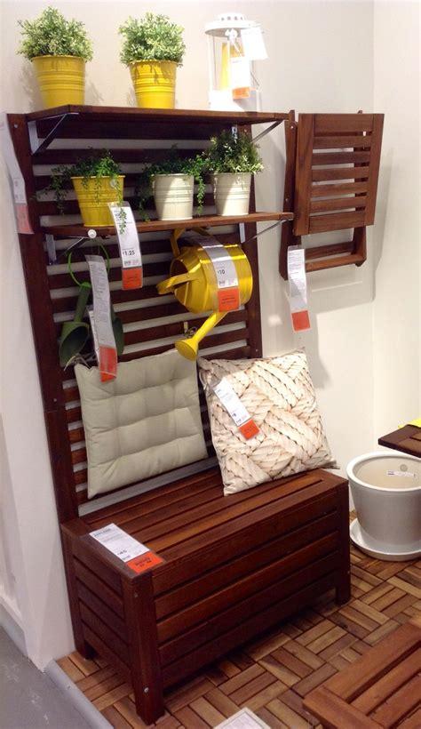 Ikea APPLARO garden storage bench, £75 | Ikea HF ...