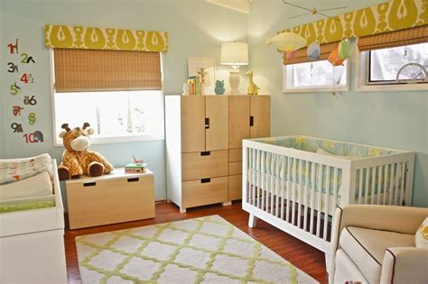 ikea baby nursery   mix of white and blonde wood | Here we ...