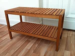 IKEA banco MOLGER, ámbar, madera de abedul, 83 cm: Amazon ...