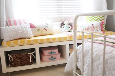 Ikea Bench   Transitional   girl s room   General Paint ...