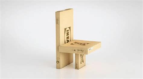 IKEA crea muebles con sus propias cajas de cartón ...