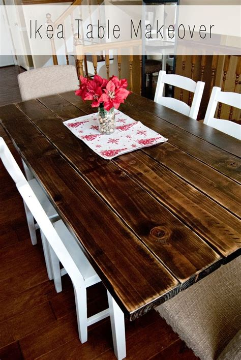 Ikea Dining Table Makeover | Dining table makeover, Ikea ...