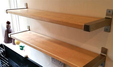 IKEA Ekby Shelves using Reclaimed Solid Birch   Gosforth ...