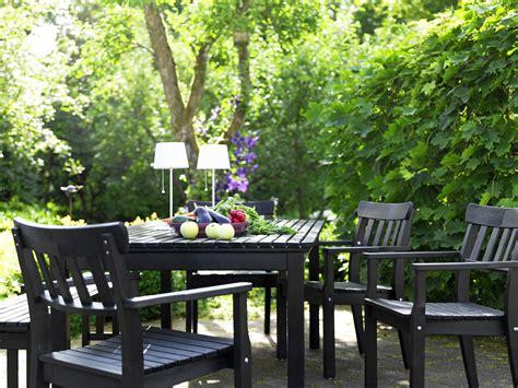 Ikea en el jardín y en la terraza en blanco y negro   Blog ...
