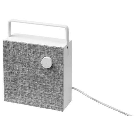 IKEA   ENEBY Bluetooth speaker white | Small portable ...