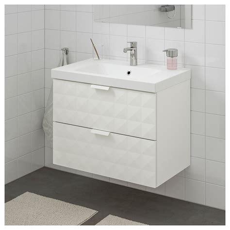 IKEA GODMORGON / ODENSVIK Armario lavabo 2 cajones ...