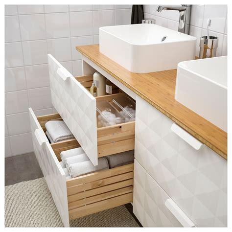 IKEA   GODMORGON/TOLKEN / HÖRVIK Bathroom vanity Resjön ...