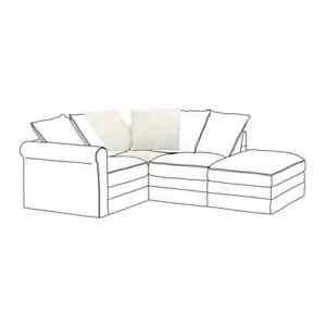 IKEA Gronlid sofa REPLACEMENT COVER   CORNER SECTION ONLY ...