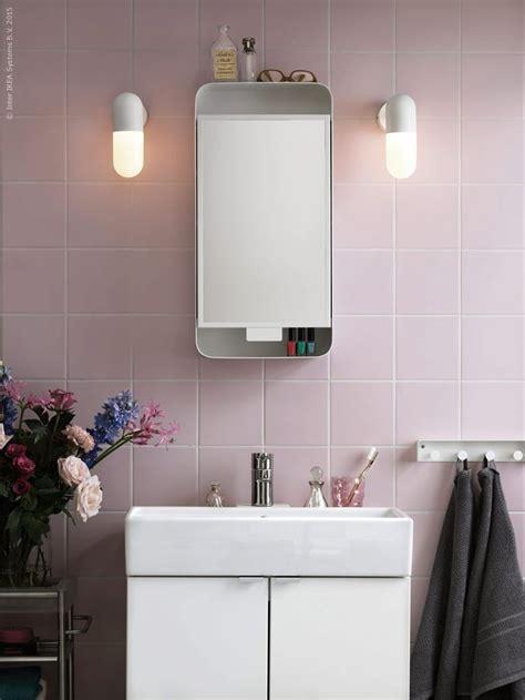 ikea gunnern mirror cabinet bathroom pink in 2019   Ikea ...