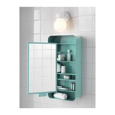 IKEA   GUNNERN, Mirror cabinet with 1 door, white ...