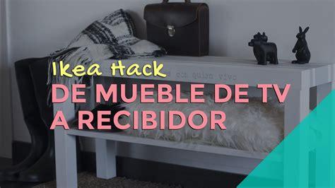 Ikea Hack: de mueble de TV a recibidor   YouTube