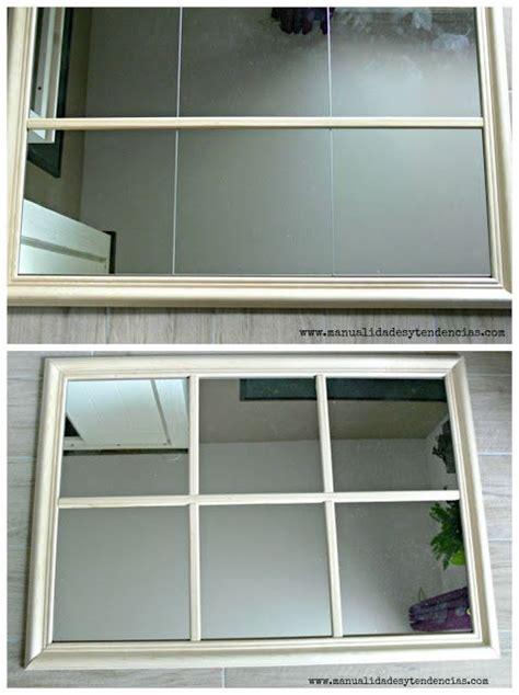 Ikea hack: Espejo de cuarterones | Espejos, Espejos ...