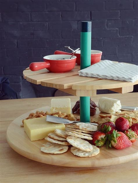 IKEA Hack: Make a Spinning Tiered Serving Tray  With ...