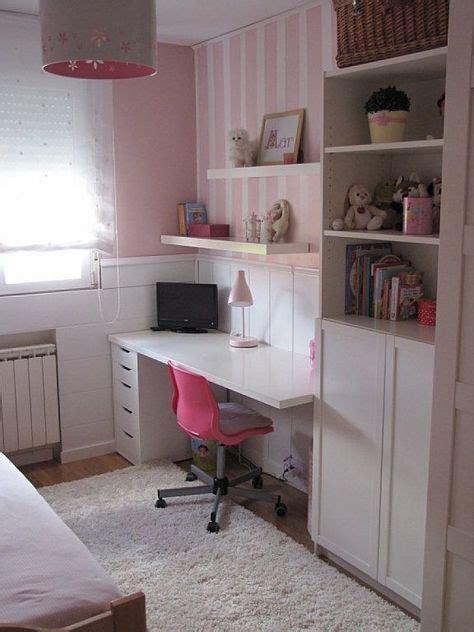 ikea hacker escritorios habitaciones pequeñas niña ...