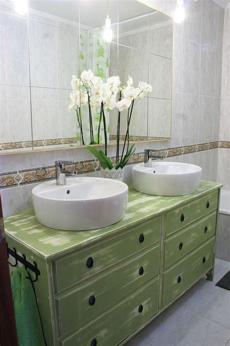 Ikea Hacks: De cómoda a lavabo doble para el baño en 2020 ...