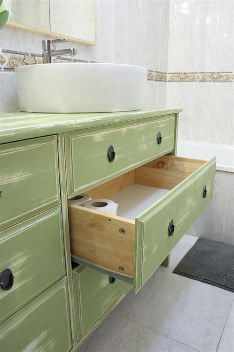 Ikea Hacks: De cómoda a lavabo doble para el baño ...