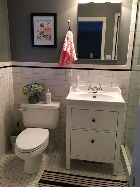 IKEA Hemnes Bathroom Vanity | Bathroom remodel | Pinterest ...