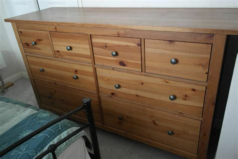 Ikea Hemnes chest of 8 drawers in pine finish | in ...