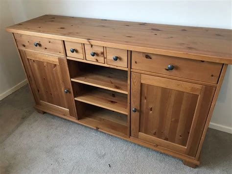 Ikea Hemnes Sideboard Draws Cupboard Pine Solid Wood   in ...