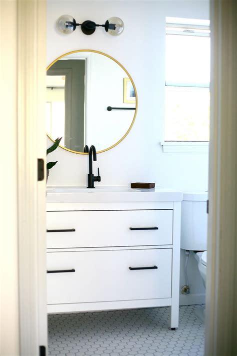 ikea hemnes sink cabinet bathroom vanity hack 2   IKEA Hackers