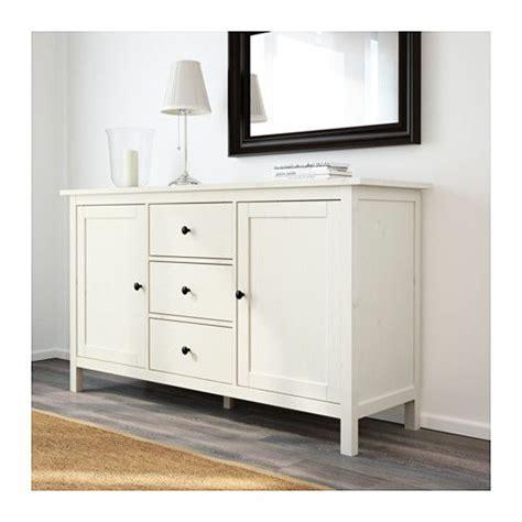 IKEA HEMNES White Stain Sideboard | Aparadores ikea ...
