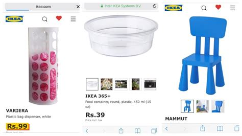 Ikea Hyderabad s online website \ Can we do online ...